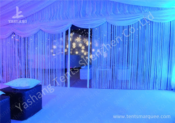 Beautiful Partition Wall Decorated Aluminum Large Outdoor Wedding Tents 20x30M