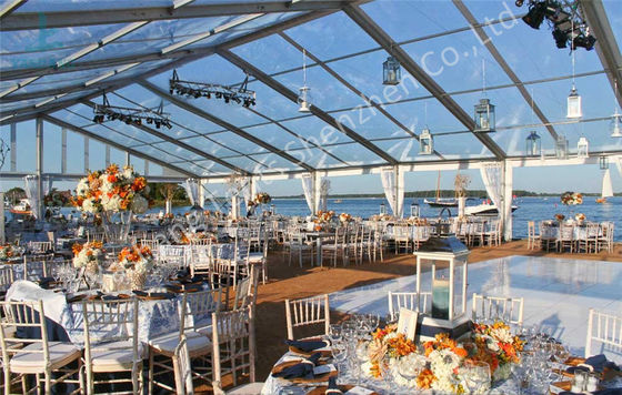 Transparent Fabric Aluminum Frame Tent Outdoor Wedding Marquee Party Event