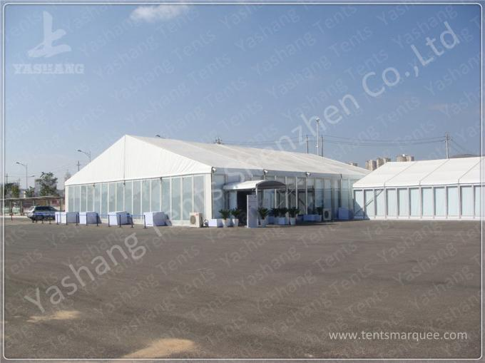 Outdoor Aluminum Frame High Peak Tents , Pagoda Corporate Event Tent