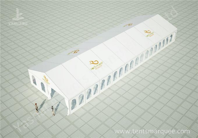 Large Span Clear Top Outdoor Luxury Wedding Tents with Aluminum Alloy Profile