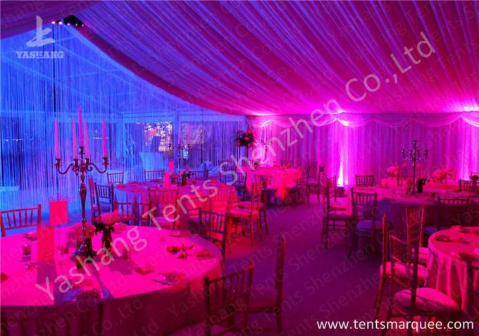 Outdoor Tents Marquee Custmized Luxury Decoration for Wedding Parties