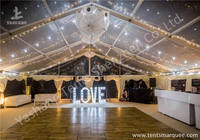Simple Linging Decorated for Outdoor Fabric and Aluminum Luxury Wedding Tents