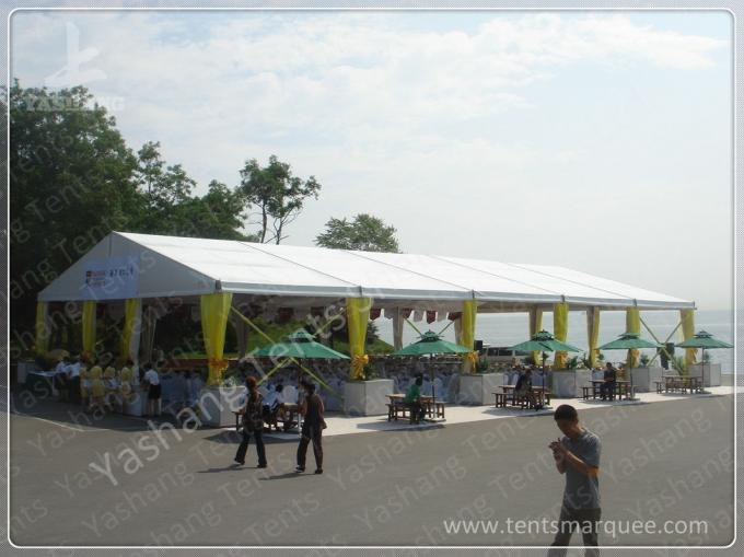 Hard Pressed Aluminum Alloy Profile High Peak Tents against Ultraviolet Rays
