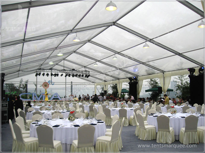 350 Seater Wedding Reception Marquee Banquet Tent Rental With Clear Glass Walls & Seater Wedding Reception Marquee Banquet Tent Rental With Clear ...