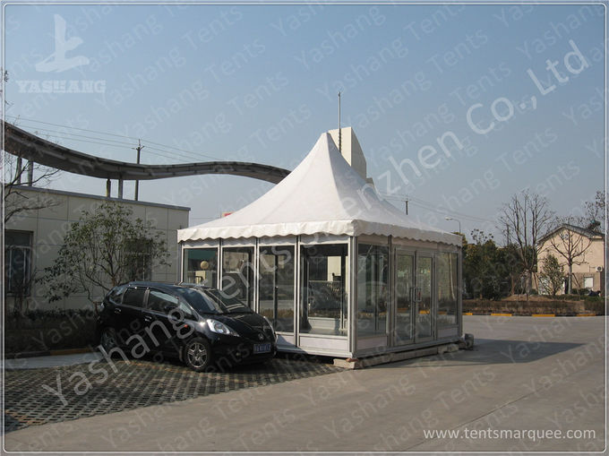 Large Square 30X40M PVC Fabric Waterproof Marquee Tent , Outdoor Marquee Hire