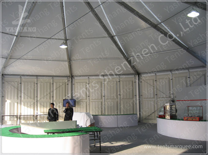 Event ABS Wall Gazebo Canopy Tents Rental With Hard Extruded Aluminum Alloy Frame