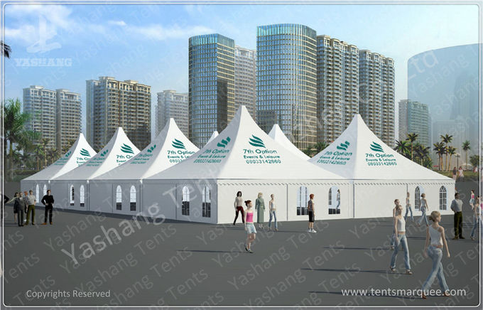 Durable 30X60 M Fashion Waterproof Marquee Tent , Outdoor Marquee Hire