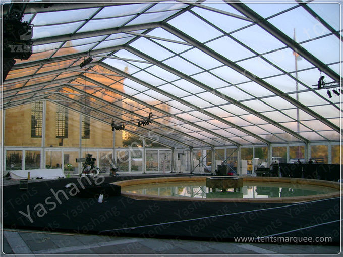 Anti UV Aluminium Frame Tents , Transparent Party Tent With 1000 Seaters