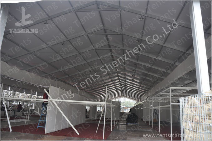 Glass Doors Aluminum Structure Tent Marquee Big Marquee Hire 40x100 M 4000 Sqm : big tent hire - memphite.com