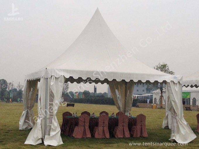 Wedding tents for 300 people - 300 People Luxury Wedding Tents Rentals Aluminium Frame Marquee With Transparent Pvc Windows