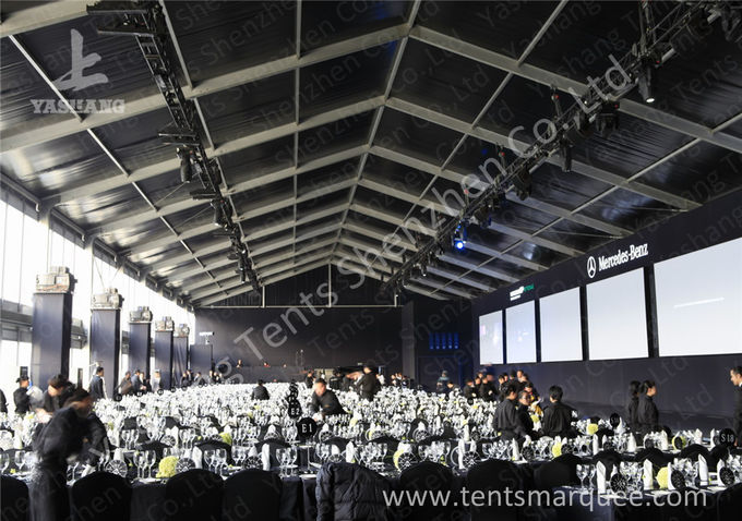 Standard Chartered Big Commercial Tents For Outside Events , Custom Made