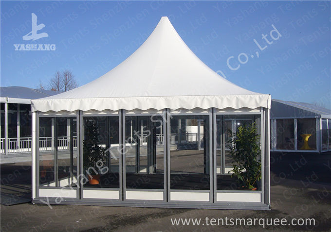 No Wall Fabric heavy duty event tents Hard Pressed Aluminum