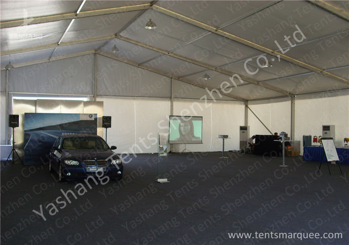 White Outside Event Tent For Exhibition / Fashion Shows , Outdoor Tent Displays